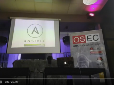 BARCAMP: Ansible, Storware vProtect, systemd-nspawn image